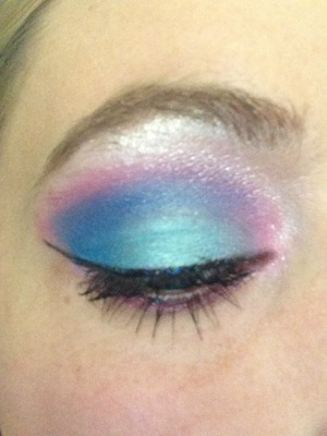 I just love blues and pinks!