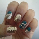 Teal and Bling