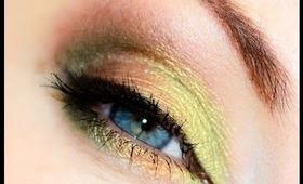 Green Makeup Look for Spring (with Sleek Garden of Eden)