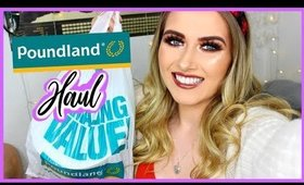 NOVEMBER/DECEMBER 2019 POUNDLAND HAUL! ✨| shivonmakeupbiz