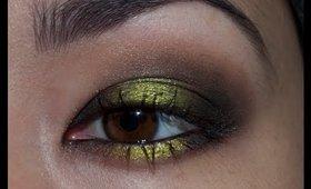  Acid Green Grunge Smokey Eye Tutorial