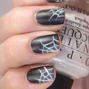 Halloween: Matte spider webs