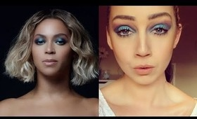 Beyonce 'Mine' Colorful Smokey Eye | Full Makeup
