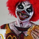 Ronald McDonald Creepy Clown Halloween