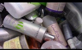 Empties With Mini Reviews