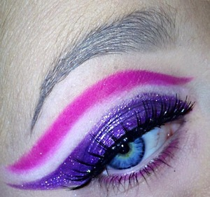 Pink and purple look so good together