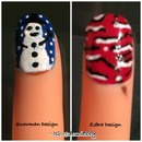 Snowman & Zebra Design