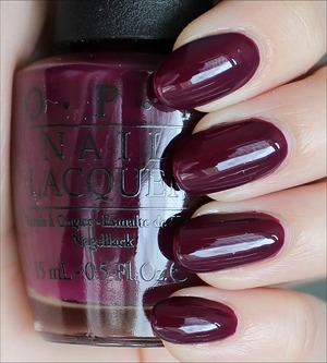 From the San Francisco Collection. Click here for my in-depth review and more swatches: http://www.swatchandlearn.com/opi-in-the-cable-car-pool-lane-swatches-review/
