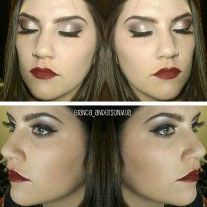 Anastasia Amrezy on eyes and Dipbrow Eyeko liner Lime Crime Wicked Velvetine