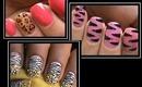 3 Animal Print Nail Designs - Nail Art Designs How To Nails Polish Design Art Cute Beginners Nails