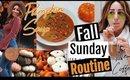 Fall Sunday Routine // PUMPKIN SOUP/ NEW COFFEE/ PUMPKIN PICKING IN LA