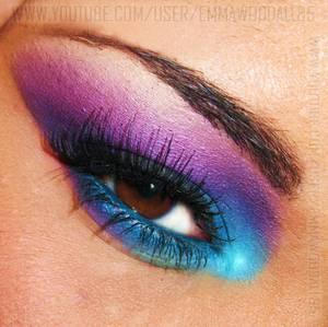 Smokey Eyes Series Purple & Aqua