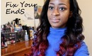 Fix& Preserve Your Ends: Tips For Relaxed Hair