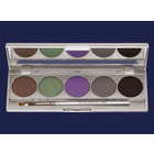 Kryolan Cake Eye Liner Set - 5 colors