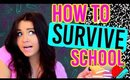 Back To School Study Tips and LIFE HACKS! (How to Survive School)