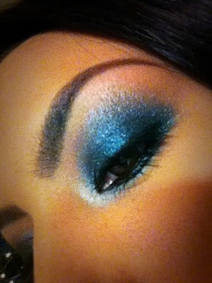 Birthday makeup 12.03.2011