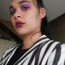 Beetlejuice Inspired Makeup