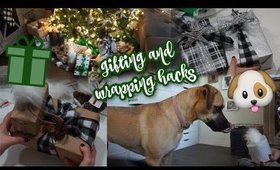Trying Viral Gift Wrapping Hacks & My Puppy Reacts to Gifts