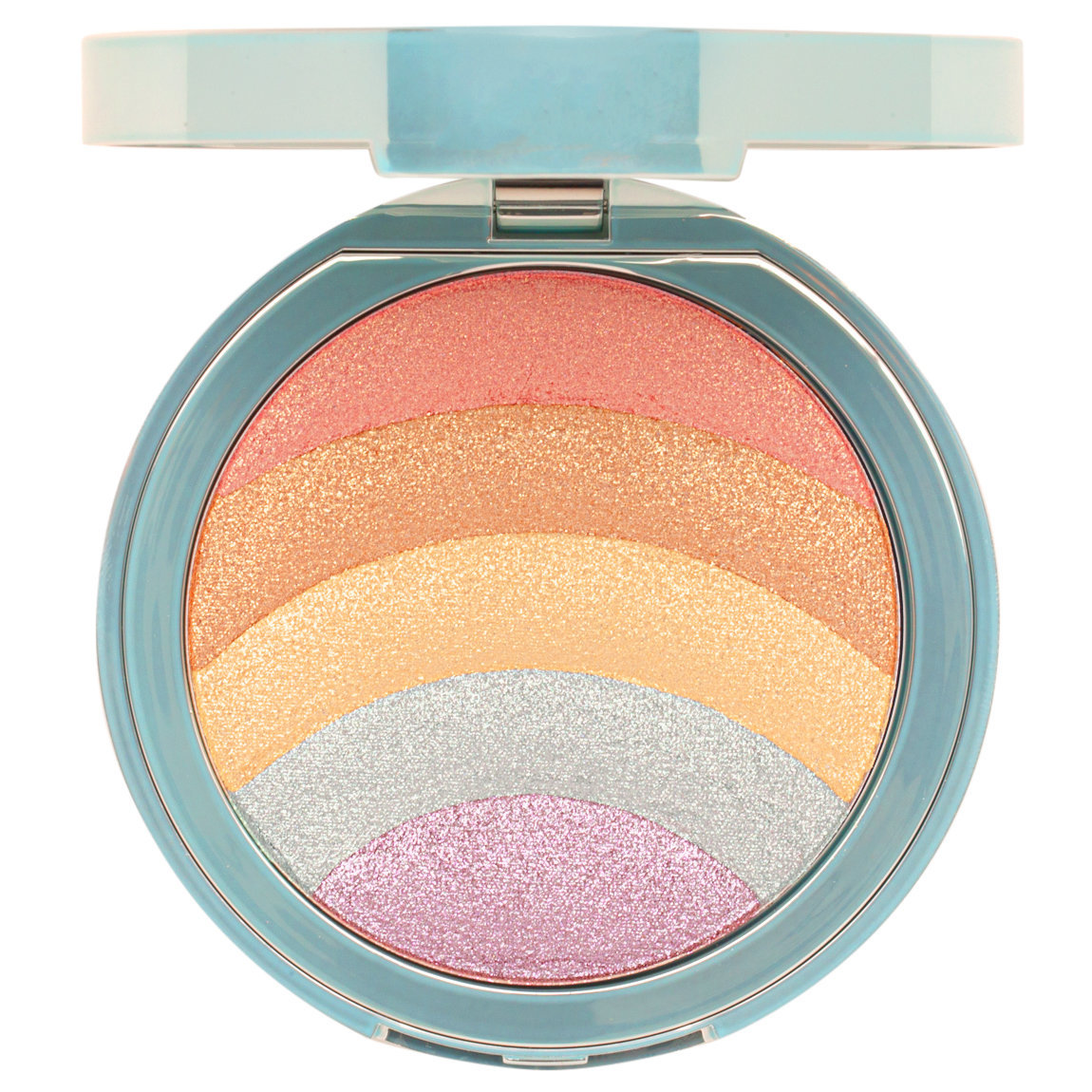 Too Faced Rainbow Strobe Highlighter product smear.