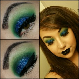 I did this look for my birthday 12-19-14 follow me @lovelylilmakupaddict lovelylilmakupaddict.blogspot.com