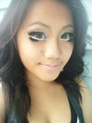 This look was inspired by Ulzzang.