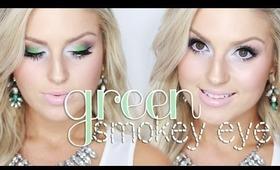 Chit Chat GRWM | Vibrant Green Eyeshadow ♡ Shaaanxo