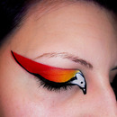 Phoenix inspired Make Up