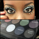 Tinsel & Twinkle from the Sleek Sparkle 2 Palette with Rhinestones
