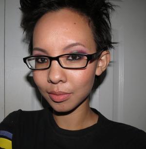 Duochrome look using Venomous Cosmetics Versicolor Eyeshadow. http://www.portraitofmai.com/2013/01/late-night-duochrome-makeup.html
