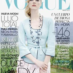 Vogue - Angela Lindvall - March 2012