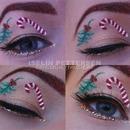 Christmas eyeshadow look