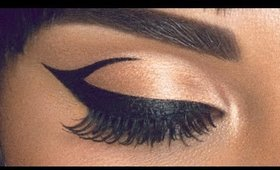 Graphic Eyeliner (Inspired by Cleopatra)