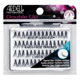 Double Up Soft Touch Individuals Knot-Free Lashes  Double Up Long Black