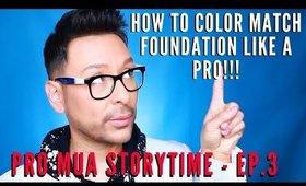 How To Color Match Foundation Like A Pro | mathias4makeup