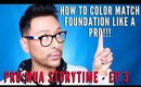 How To Color Match Foundation Like A Pro | mathias4makeup
