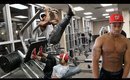 WATCH ME GET SCHOLE! LEG + CHEST GAINS! | Mannie_Savage