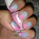 cotton candy ombree