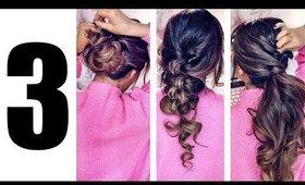 (2018)💗LAZY GIRL'S ELEGANT HAIRSTYLES! 💗 EASY PUFF EVERYDAY UPDOS for Medium Long Hair