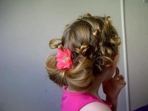 Bow braid large bow finish