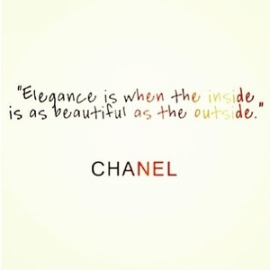 Elegance is when the inside is as beautiful as the outside - Coco Chanel xoxo #elegance #chanel #mindfulmonday #mindfulmonday #motivationalmonday #inspiration #quote #wisewords #intention #faith #jesus #hope #love #peace #life #heart #wisdom #grace #blossom #lpm #ssmt