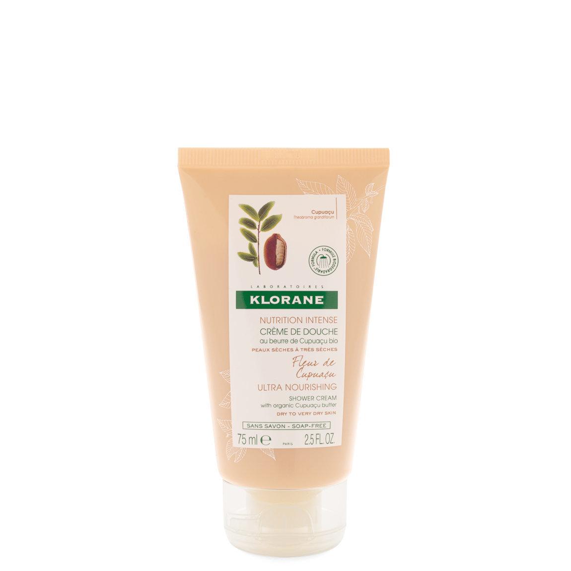 Klorane Cupuaçu Flower Shower Cream with Cupuaçu Butter 2.5 fl oz alternative view 1 - product swatch.