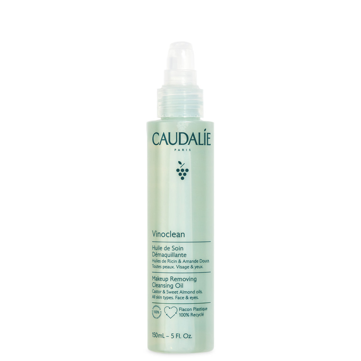 Caudalie Vinoclean Make-Up Removing Cleansing Oil alternative view 1 - product swatch.