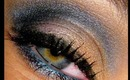 Blues, Golds, and Corals Makeup Tutorial