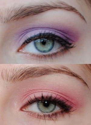 Two looks that were going to be a tutorial/review, but just never worked out, haha!
