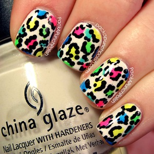 I purchased some new leopard print vans recently and decided to do some nail art to match them!  Check out my blog post for more photos as well as a list of the different polishes I used. I used quite a few.  Full Blog Post: http://www.packapunchpolish.com/2013/03/neon-leopard-print-nail-art.html  Video Tutorial:  http://youtu.be/vI-PXfIlMlM