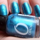 Orly It's Up To Blue + Sinful Colors Nail Junkie