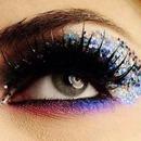 Fun glitter eye