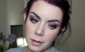Spring 2014 makeup tutorial : Romantic soft brown smoky eyes