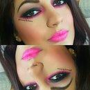 MAC pink loose pigment
