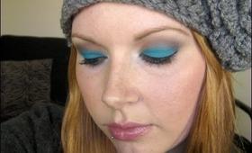 Cerulean Eyes Makeup Tutorial